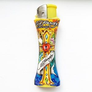 Colorful Ed Hardy cross lighter case / shell